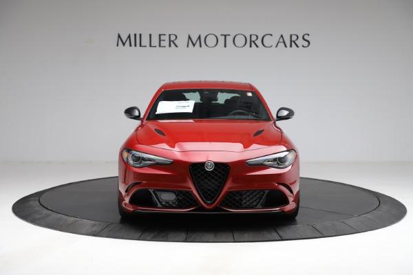 New 2021 Alfa Romeo Giulia Quadrifoglio for sale $83,740 at Alfa Romeo of Greenwich in Greenwich CT 06830 10