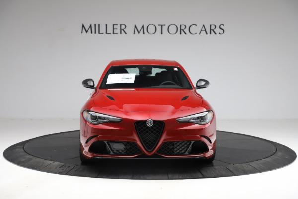 New 2021 Alfa Romeo Giulia Quadrifoglio for sale $83,740 at Alfa Romeo of Greenwich in Greenwich CT 06830 11