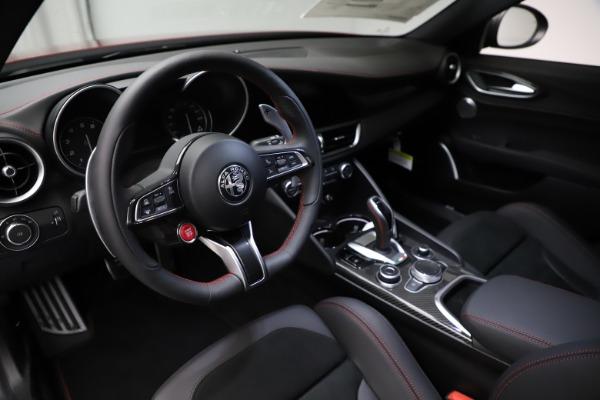 New 2021 Alfa Romeo Giulia Quadrifoglio for sale $83,740 at Alfa Romeo of Greenwich in Greenwich CT 06830 12
