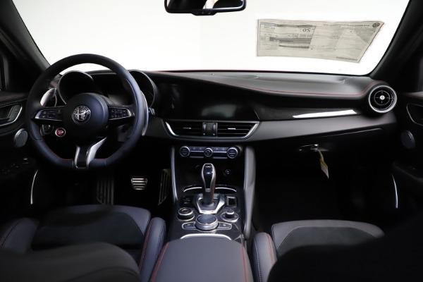 New 2021 Alfa Romeo Giulia Quadrifoglio for sale $83,740 at Alfa Romeo of Greenwich in Greenwich CT 06830 15