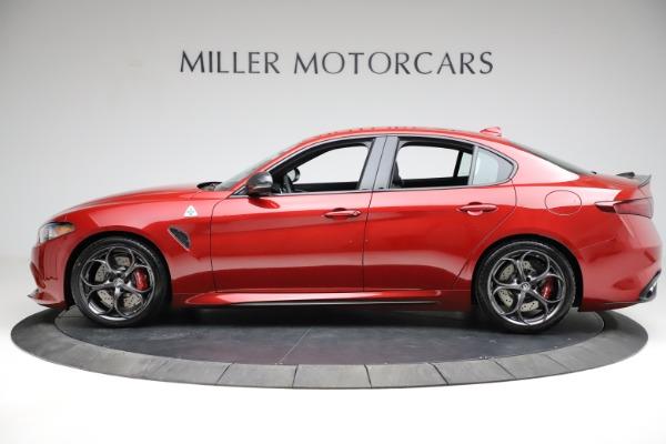 New 2021 Alfa Romeo Giulia Quadrifoglio for sale $83,740 at Alfa Romeo of Greenwich in Greenwich CT 06830 2