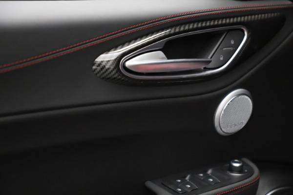 New 2021 Alfa Romeo Giulia Quadrifoglio for sale $83,740 at Alfa Romeo of Greenwich in Greenwich CT 06830 27