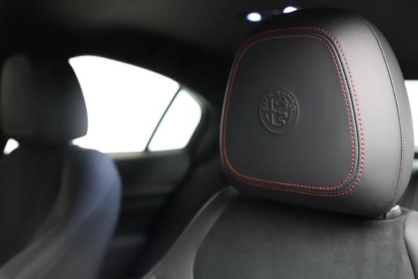 New 2021 Alfa Romeo Giulia Quadrifoglio for sale $83,740 at Alfa Romeo of Greenwich in Greenwich CT 06830 28