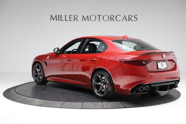 New 2021 Alfa Romeo Giulia Quadrifoglio for sale $83,740 at Alfa Romeo of Greenwich in Greenwich CT 06830 3