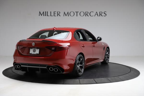 New 2021 Alfa Romeo Giulia Quadrifoglio for sale $83,740 at Alfa Romeo of Greenwich in Greenwich CT 06830 5