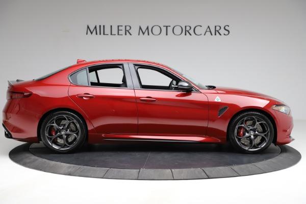 New 2021 Alfa Romeo Giulia Quadrifoglio for sale $83,740 at Alfa Romeo of Greenwich in Greenwich CT 06830 7