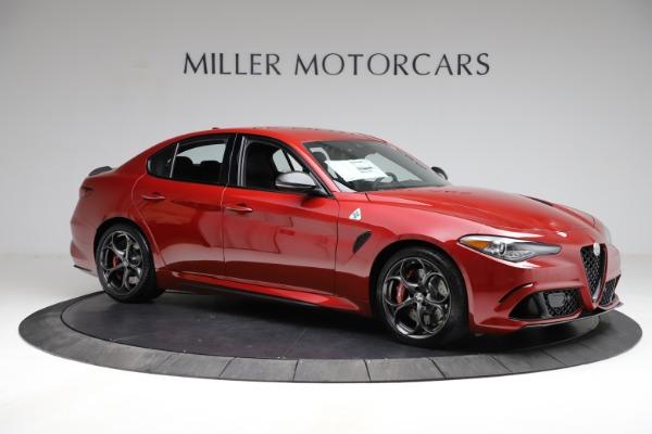 New 2021 Alfa Romeo Giulia Quadrifoglio for sale $83,740 at Alfa Romeo of Greenwich in Greenwich CT 06830 8