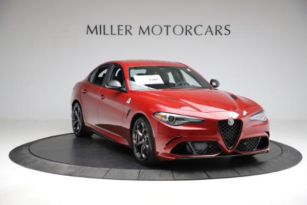 New 2021 Alfa Romeo Giulia Quadrifoglio for sale $83,740 at Alfa Romeo of Greenwich in Greenwich CT 06830 9