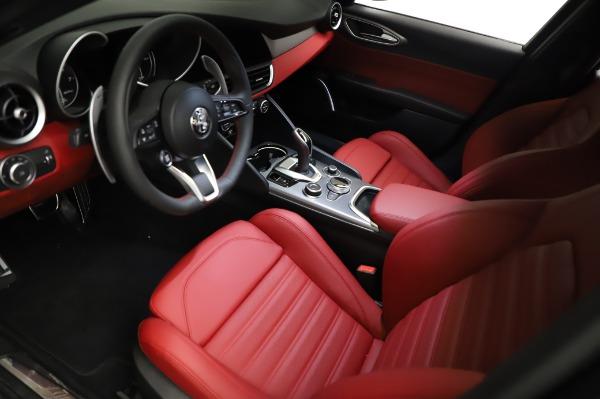 New 2021 Alfa Romeo Giulia Ti Sport for sale $54,050 at Alfa Romeo of Greenwich in Greenwich CT 06830 12