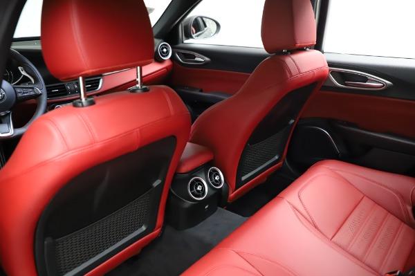 New 2021 Alfa Romeo Giulia Ti Sport for sale $54,050 at Alfa Romeo of Greenwich in Greenwich CT 06830 17