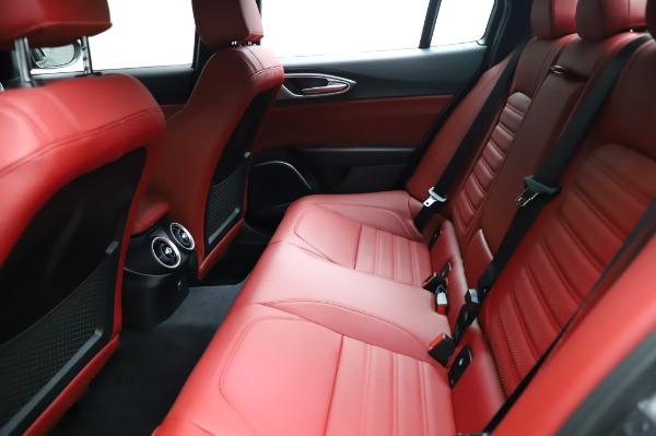 New 2021 Alfa Romeo Giulia Ti Sport for sale $54,050 at Alfa Romeo of Greenwich in Greenwich CT 06830 18