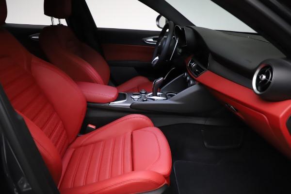 New 2021 Alfa Romeo Giulia Ti Sport for sale $54,050 at Alfa Romeo of Greenwich in Greenwich CT 06830 22