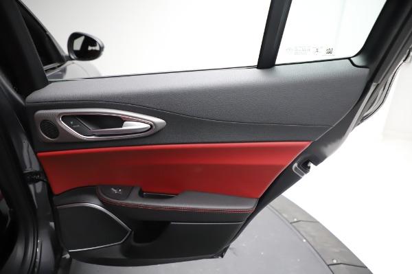 New 2021 Alfa Romeo Giulia Ti Sport for sale $54,050 at Alfa Romeo of Greenwich in Greenwich CT 06830 25
