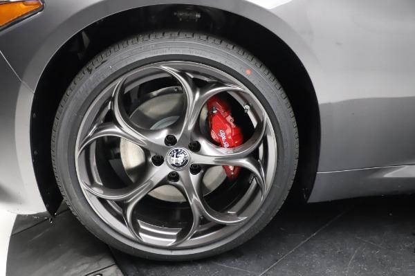 New 2021 Alfa Romeo Giulia Ti Sport for sale $54,050 at Alfa Romeo of Greenwich in Greenwich CT 06830 26
