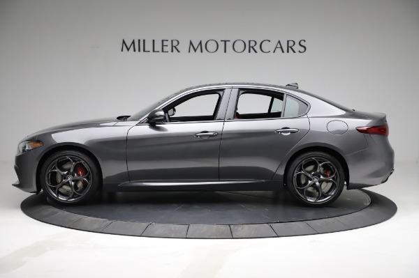 New 2021 Alfa Romeo Giulia Ti Sport for sale $54,050 at Alfa Romeo of Greenwich in Greenwich CT 06830 3