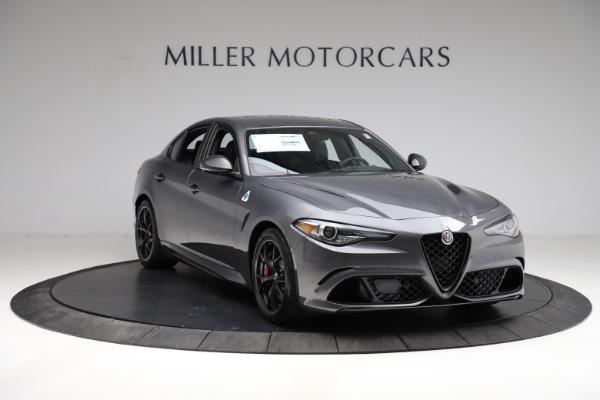 New 2021 Alfa Romeo Giulia Quadrifoglio for sale $83,200 at Alfa Romeo of Greenwich in Greenwich CT 06830 10