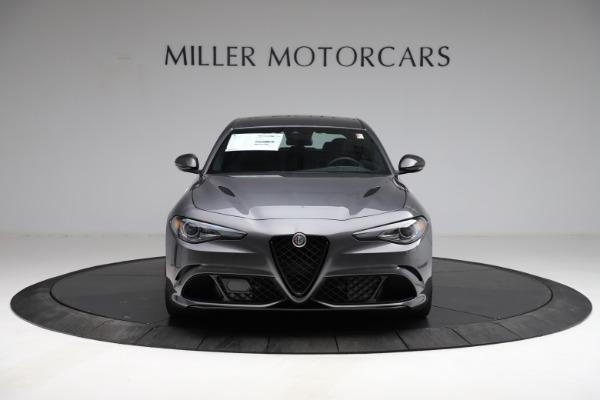 New 2021 Alfa Romeo Giulia Quadrifoglio for sale $83,200 at Alfa Romeo of Greenwich in Greenwich CT 06830 11