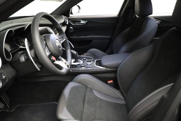 New 2021 Alfa Romeo Giulia Quadrifoglio for sale $83,200 at Alfa Romeo of Greenwich in Greenwich CT 06830 13