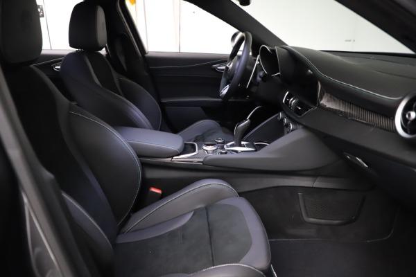 New 2021 Alfa Romeo Giulia Quadrifoglio for sale $83,200 at Alfa Romeo of Greenwich in Greenwich CT 06830 21