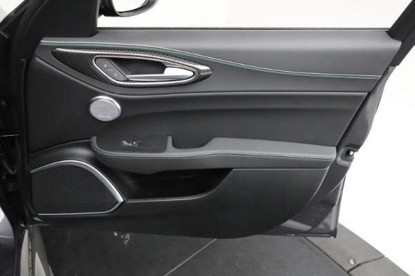 New 2021 Alfa Romeo Giulia Quadrifoglio for sale $83,200 at Alfa Romeo of Greenwich in Greenwich CT 06830 22