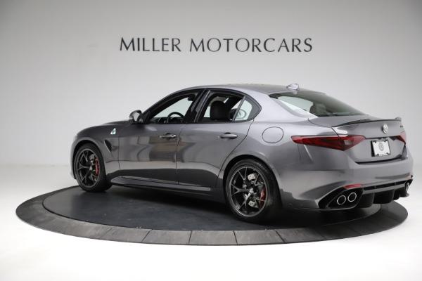 New 2021 Alfa Romeo Giulia Quadrifoglio for sale $83,200 at Alfa Romeo of Greenwich in Greenwich CT 06830 4