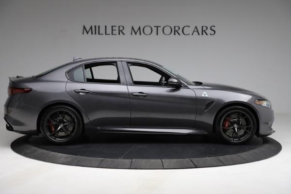 New 2021 Alfa Romeo Giulia Quadrifoglio for sale $83,200 at Alfa Romeo of Greenwich in Greenwich CT 06830 8