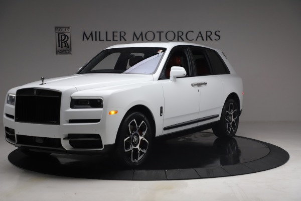 New 2021 Rolls-Royce Cullinan Black Badge for sale Call for price at Alfa Romeo of Greenwich in Greenwich CT 06830 3