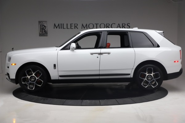 New 2021 Rolls-Royce Cullinan Black Badge for sale Call for price at Alfa Romeo of Greenwich in Greenwich CT 06830 4