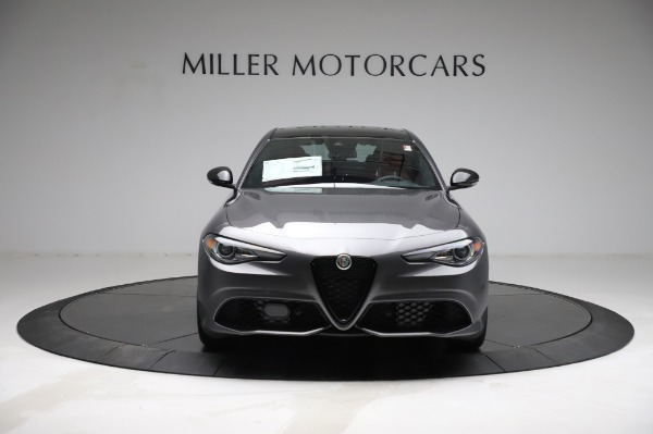 New 2021 Alfa Romeo Giulia Ti Sport for sale $54,050 at Alfa Romeo of Greenwich in Greenwich CT 06830 11