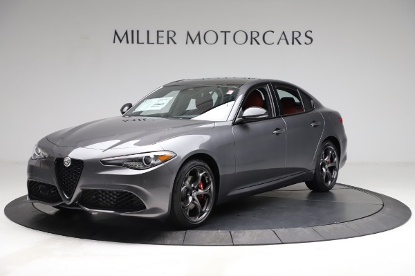 New 2021 Alfa Romeo Giulia Ti Sport for sale $54,050 at Alfa Romeo of Greenwich in Greenwich CT 06830 2