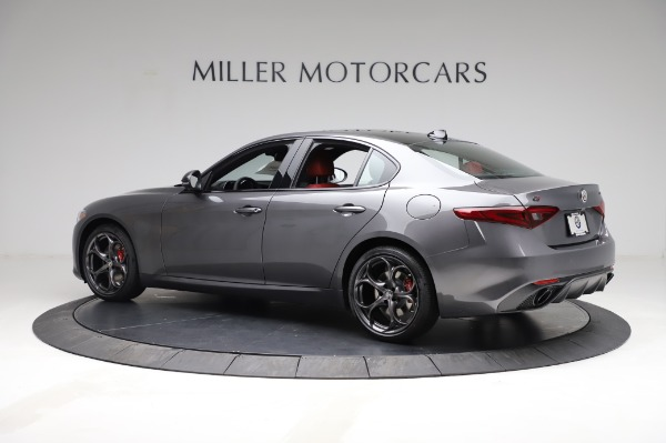 New 2021 Alfa Romeo Giulia Ti Sport for sale $54,050 at Alfa Romeo of Greenwich in Greenwich CT 06830 4