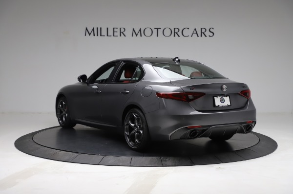New 2021 Alfa Romeo Giulia Ti Sport for sale $54,050 at Alfa Romeo of Greenwich in Greenwich CT 06830 5