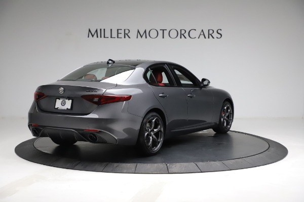 New 2021 Alfa Romeo Giulia Ti Sport for sale $54,050 at Alfa Romeo of Greenwich in Greenwich CT 06830 7