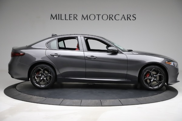 New 2021 Alfa Romeo Giulia Ti Sport for sale $54,050 at Alfa Romeo of Greenwich in Greenwich CT 06830 8