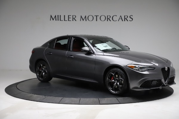 New 2021 Alfa Romeo Giulia Ti Sport for sale $54,050 at Alfa Romeo of Greenwich in Greenwich CT 06830 9