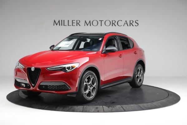 New 2021 Alfa Romeo Stelvio Sprint for sale $50,535 at Alfa Romeo of Greenwich in Greenwich CT 06830 2