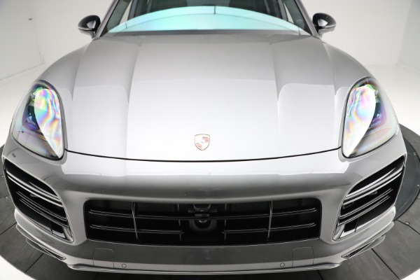Used 2020 Porsche Cayenne Turbo for sale $145,900 at Alfa Romeo of Greenwich in Greenwich CT 06830 14