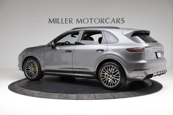 Used 2020 Porsche Cayenne Turbo for sale $145,900 at Alfa Romeo of Greenwich in Greenwich CT 06830 4