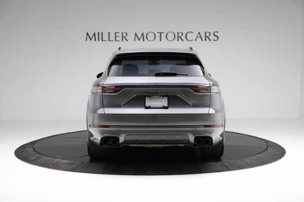 Used 2020 Porsche Cayenne Turbo for sale $145,900 at Alfa Romeo of Greenwich in Greenwich CT 06830 7