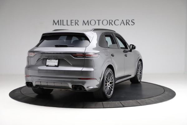 Used 2020 Porsche Cayenne Turbo for sale $145,900 at Alfa Romeo of Greenwich in Greenwich CT 06830 8