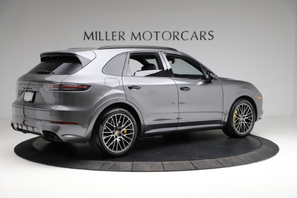 Used 2020 Porsche Cayenne Turbo for sale $145,900 at Alfa Romeo of Greenwich in Greenwich CT 06830 9
