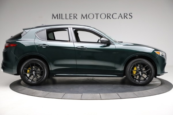 New 2021 Alfa Romeo Stelvio Ti for sale $53,650 at Alfa Romeo of Greenwich in Greenwich CT 06830 10