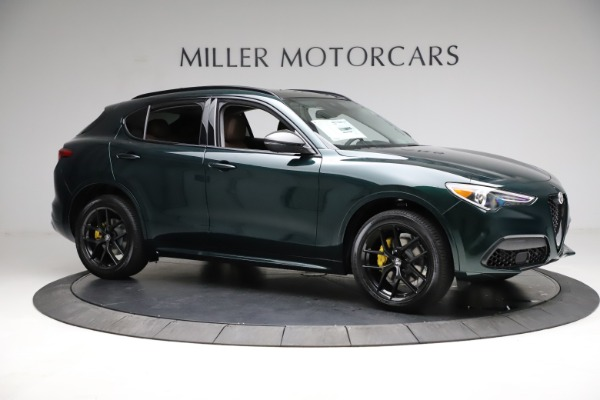 New 2021 Alfa Romeo Stelvio Ti for sale $53,650 at Alfa Romeo of Greenwich in Greenwich CT 06830 11