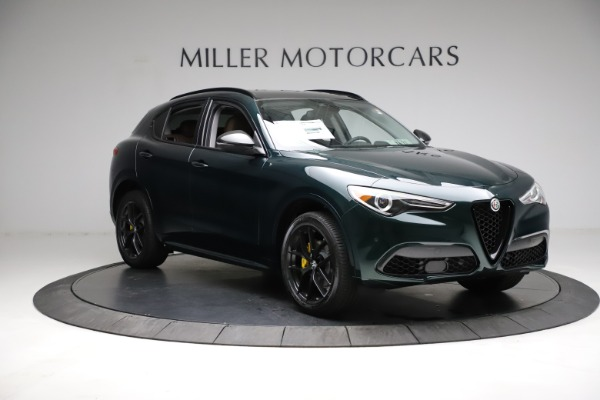 New 2021 Alfa Romeo Stelvio Ti for sale $53,650 at Alfa Romeo of Greenwich in Greenwich CT 06830 12