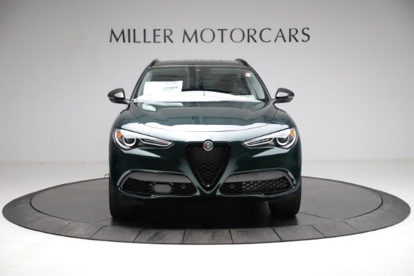 New 2021 Alfa Romeo Stelvio Ti for sale $53,650 at Alfa Romeo of Greenwich in Greenwich CT 06830 13