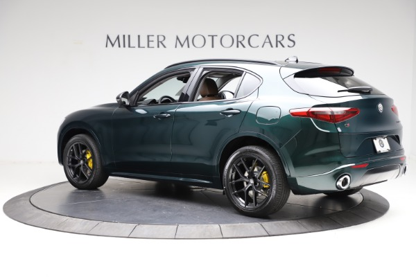 New 2021 Alfa Romeo Stelvio Ti for sale $53,650 at Alfa Romeo of Greenwich in Greenwich CT 06830 4