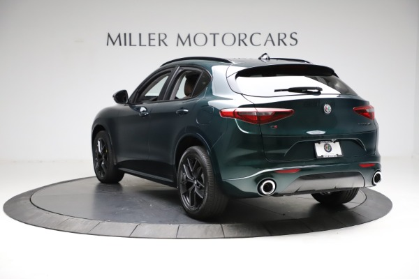 New 2021 Alfa Romeo Stelvio Ti for sale $53,650 at Alfa Romeo of Greenwich in Greenwich CT 06830 5