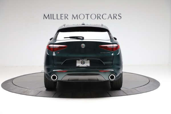 New 2021 Alfa Romeo Stelvio Ti for sale $53,650 at Alfa Romeo of Greenwich in Greenwich CT 06830 6