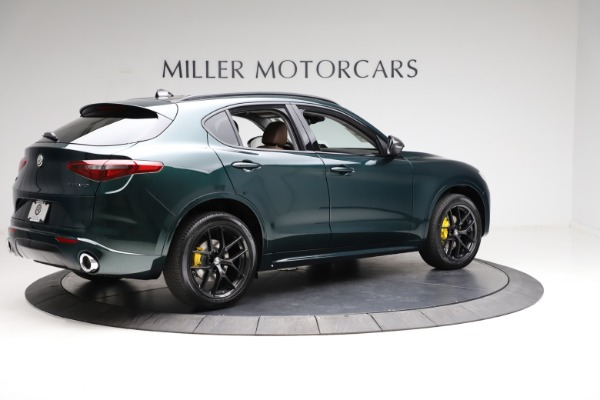 New 2021 Alfa Romeo Stelvio Ti for sale $53,650 at Alfa Romeo of Greenwich in Greenwich CT 06830 8