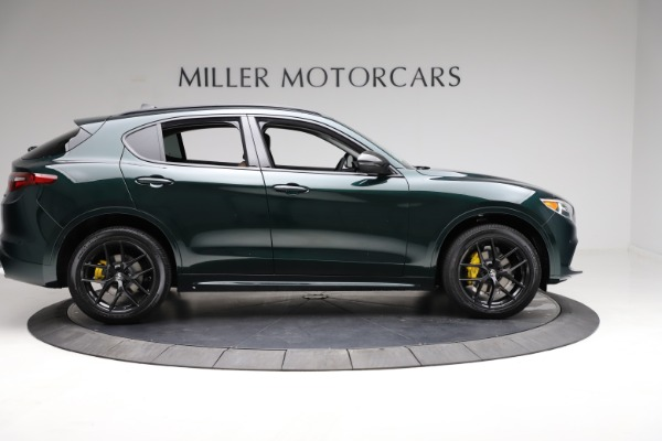 New 2021 Alfa Romeo Stelvio Ti for sale $53,650 at Alfa Romeo of Greenwich in Greenwich CT 06830 9